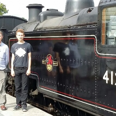 50 Diamond DofE 24-9-16 Isle of wight steam railway (1)