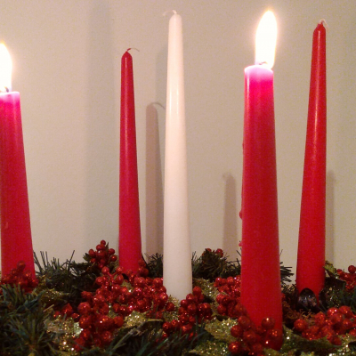 Advent candles 2 ws