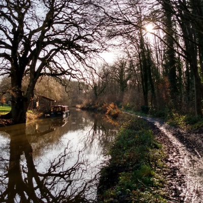 Canal winter