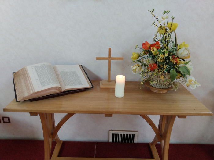 Chirch communion table