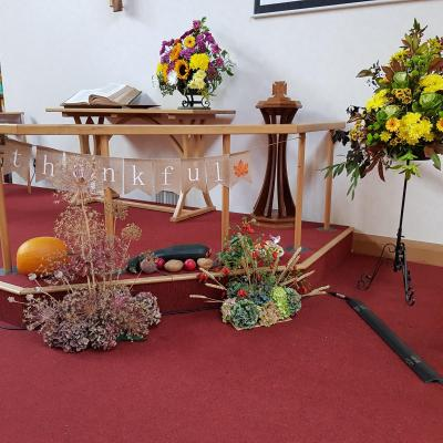 Harvest Celebrations church