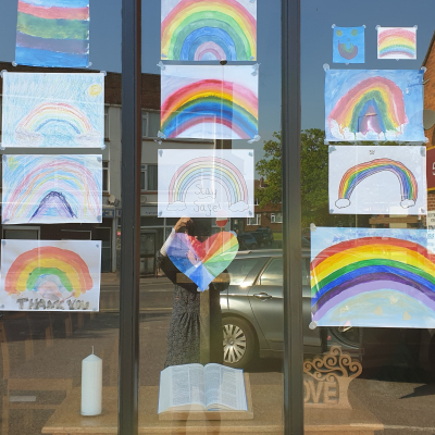 Rainbow window